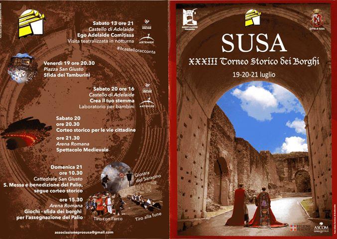Brochure Torneo Storico di Susa 2019 - 1