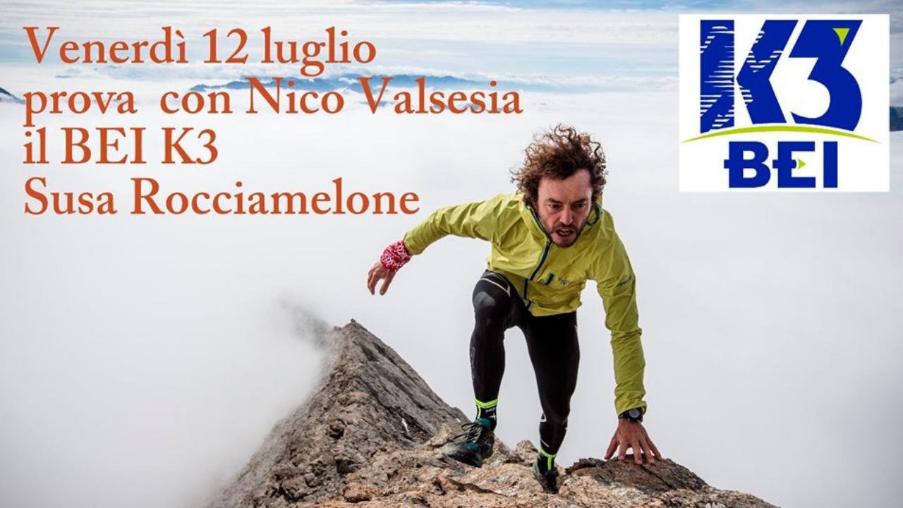Skyrunning in Valle di Susa: prova il Bei K3 con Nico Valsesia