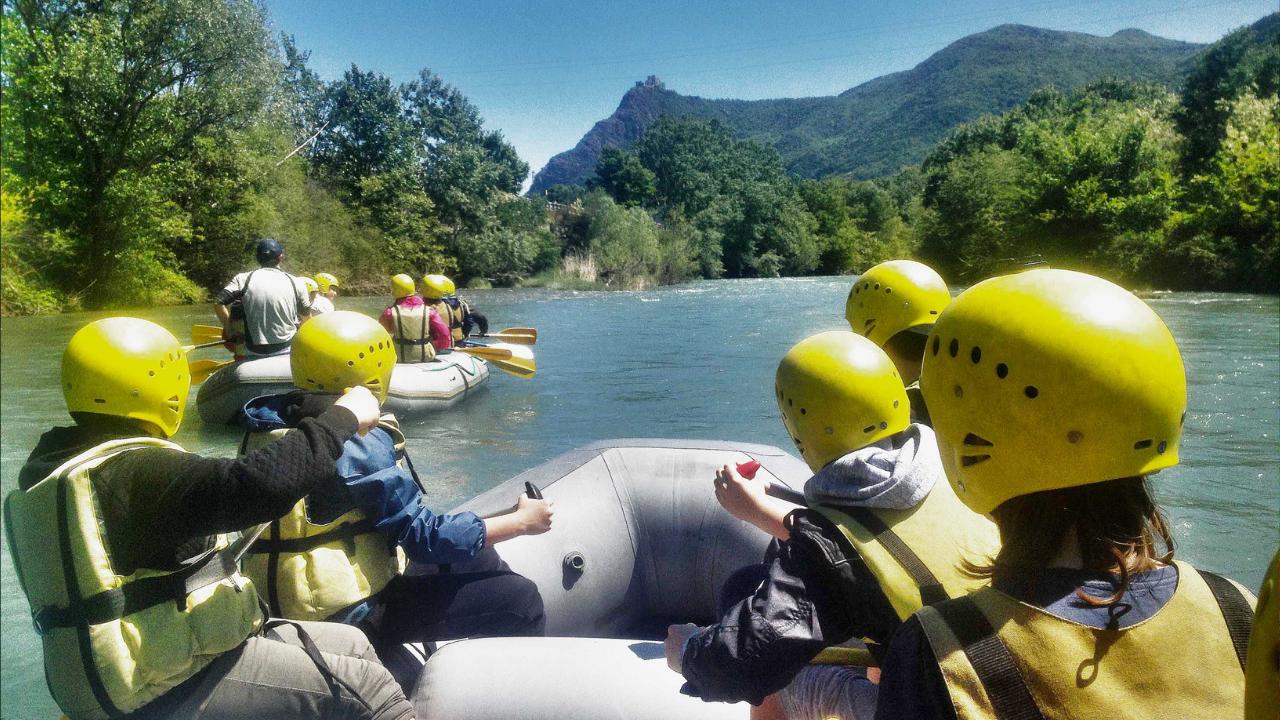 River Side – Discese di Rafting e Parco Avventura in Val Susa