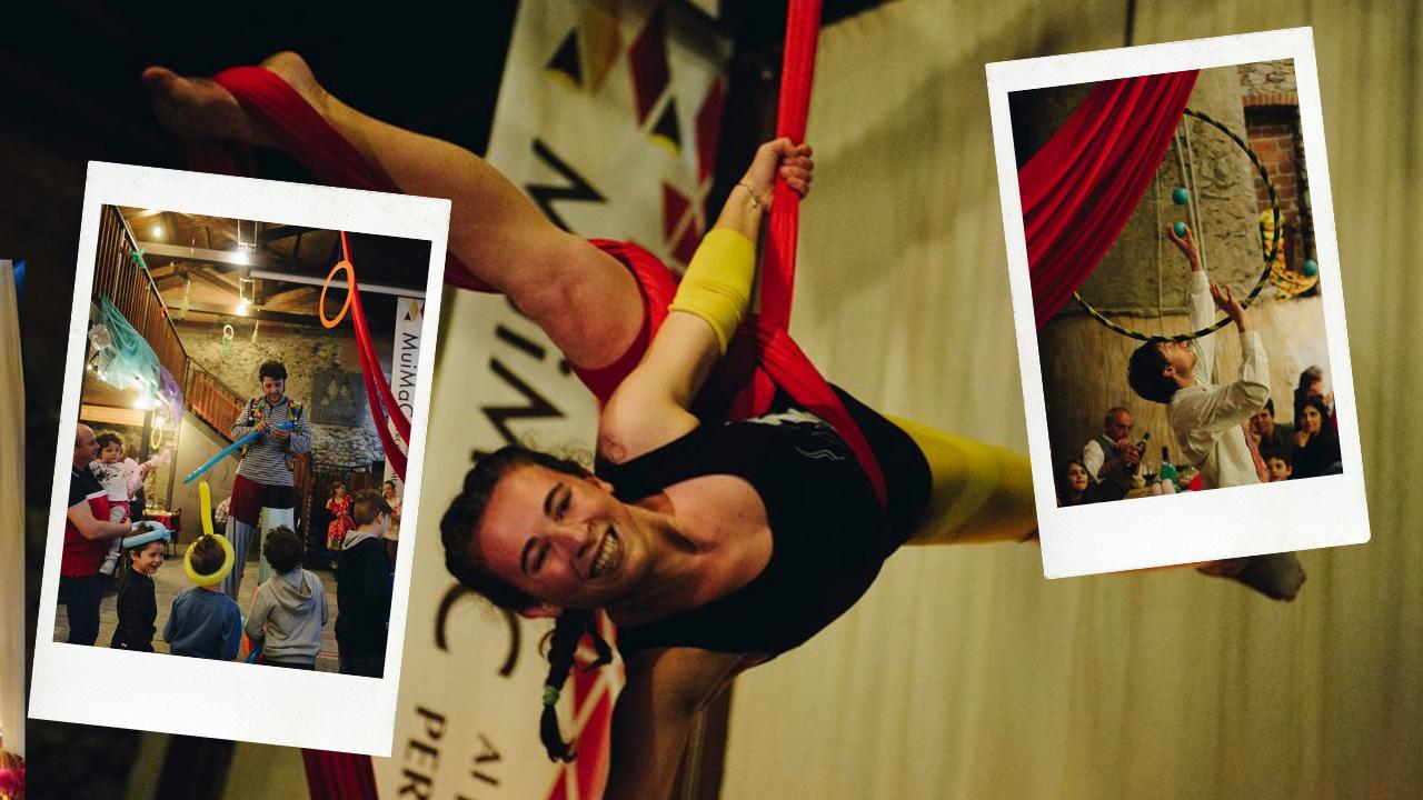 L'impronta del circo – Summer camp a Cascina Roland
