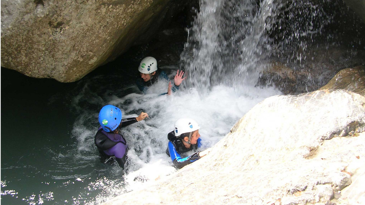 Canyoning in Valle di Susa, la discesa del Rio Sessi di Caprie
