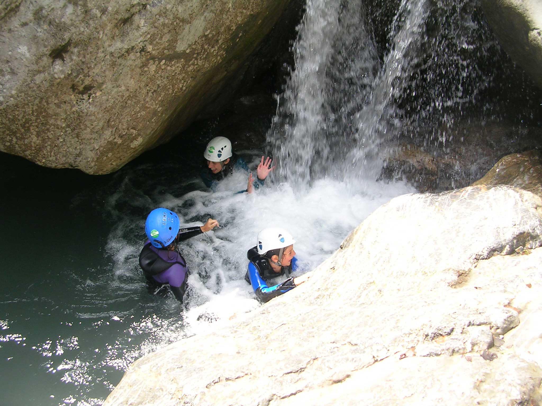 Torrentismo e canyoning in Valle Susa