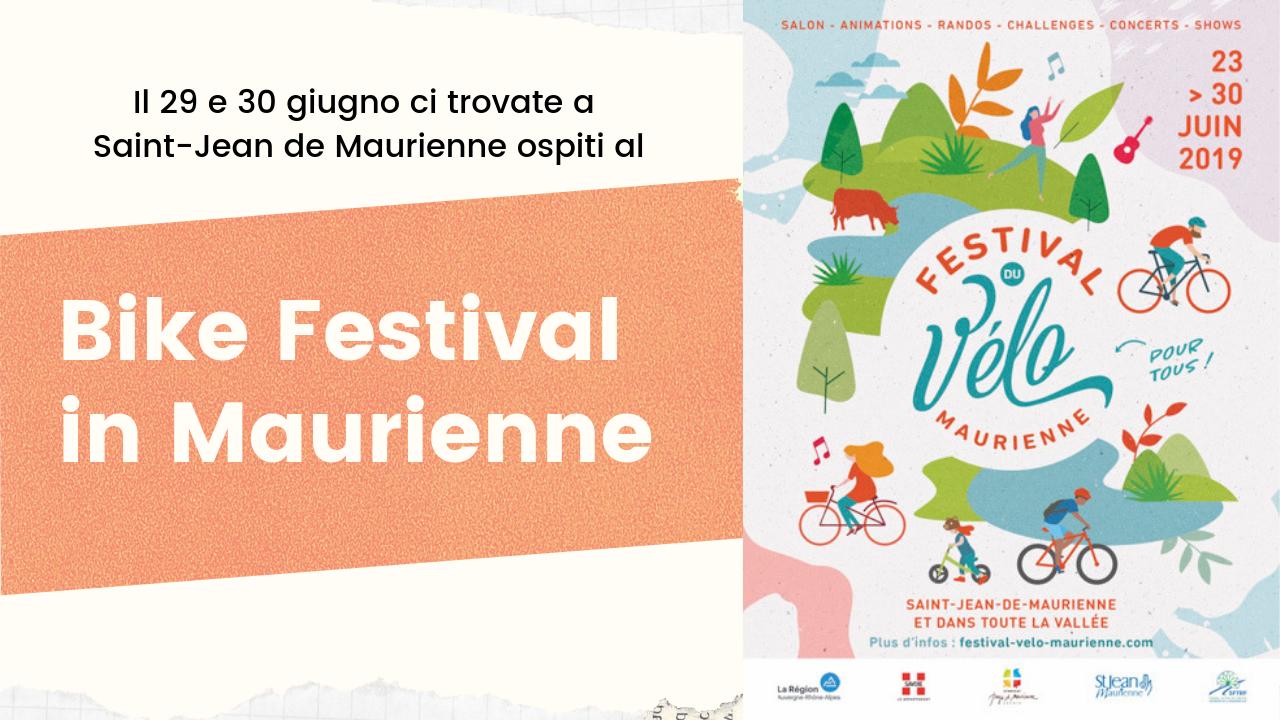 Unione Montana Valle Susa ospite al Bike Festival in Maurienne