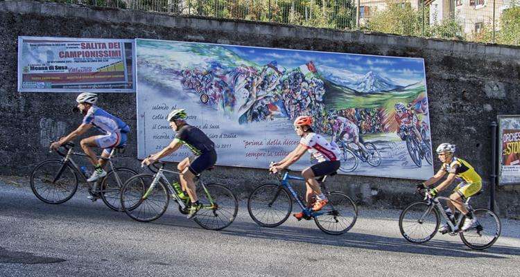 Bici da strada Val Susa