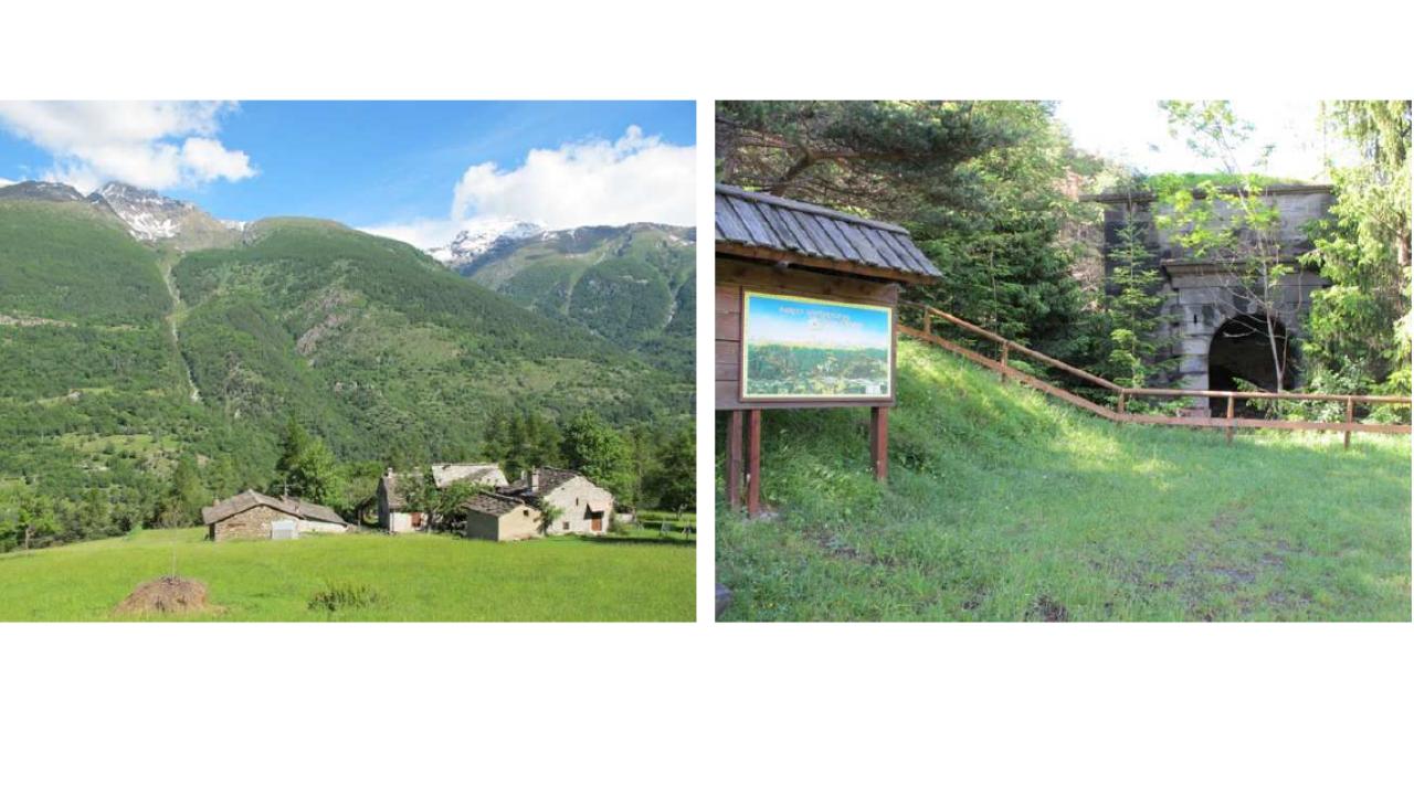 Escursione gratuita con il guardiaparco a Exilles, lungo il sentiero dei Franchi