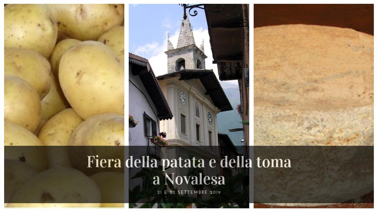 Eventi Gusto Val Susa Fiera della patata e della toma a Novalesa