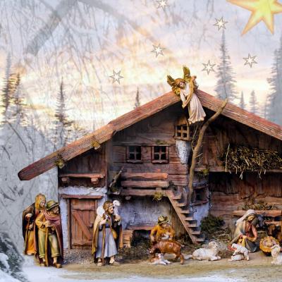 I presepi di Natale in Valsusa e nei borghi si rinnova la tradizione alpina