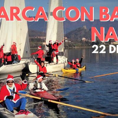 In barca con Babbo Natale per Airc al Centro Velico Avigliana