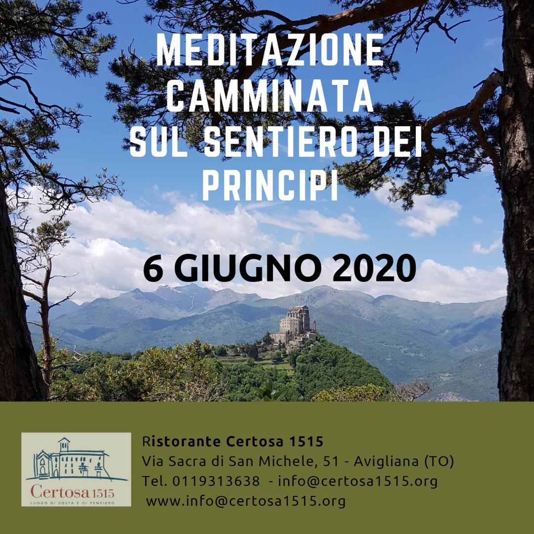 Meditazione e camminata sul sentiero dei principi con Certosa 1515 - Valle di Susa