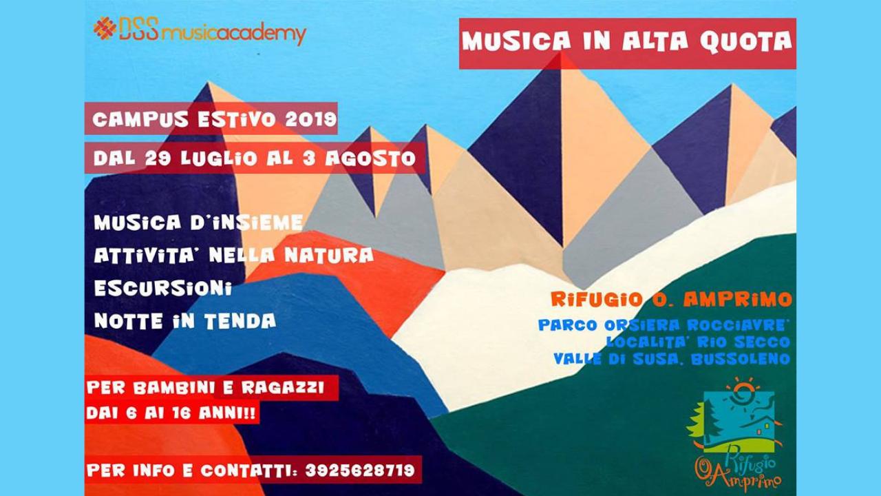 Campus Musicale In Alta Quota al Rifugio Amprimo