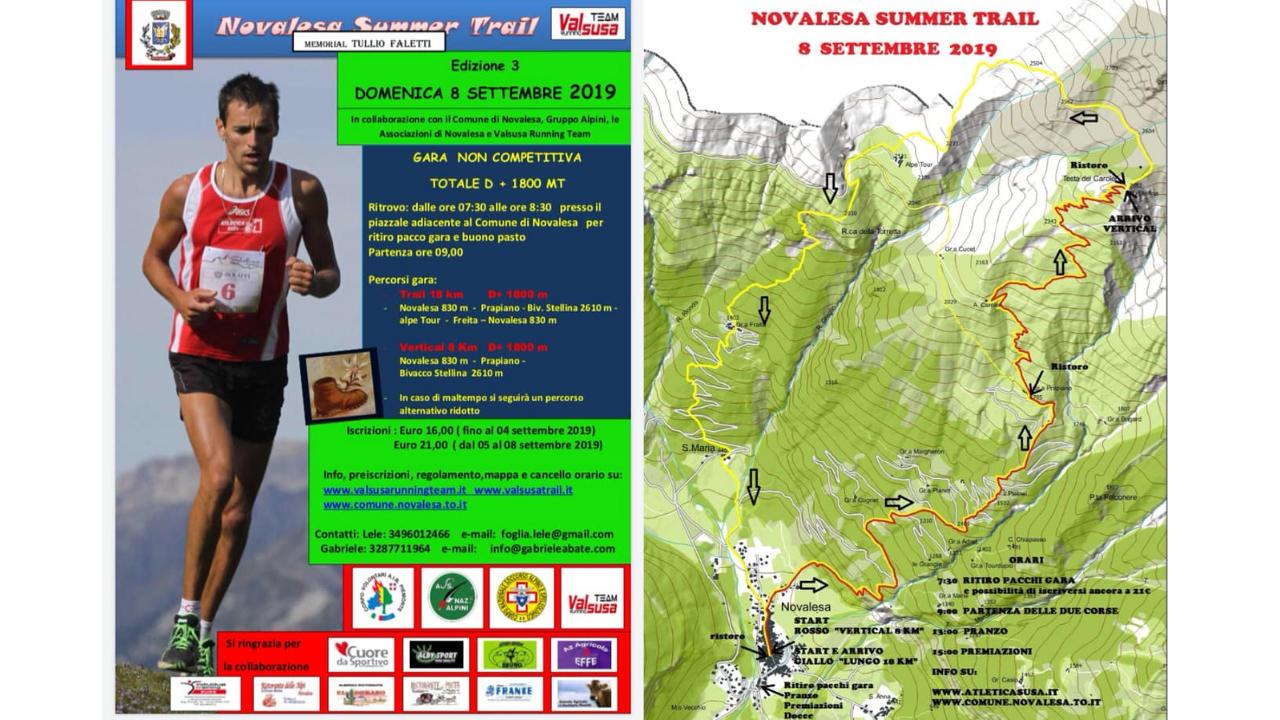 Novalesa Summer Trail 08 Settembre 2019