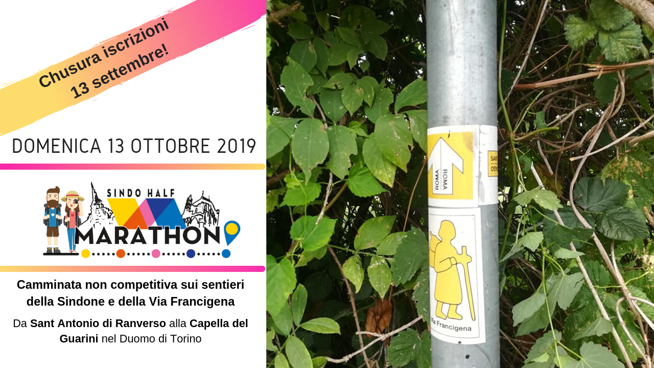 Sindo Half Marathon sulla Via Francigena della Valle di Susa