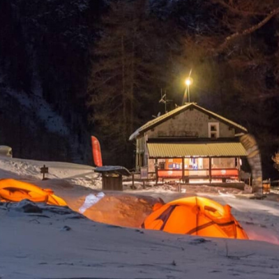 Una notte in tenda al rifugio Toesca in Val Susa, l'esperienza con Ferrino!