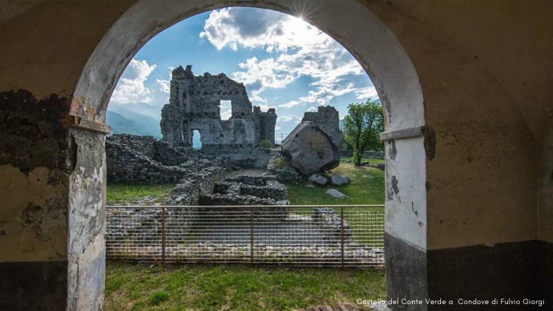 Visite a Condove Castello del Conte Verde