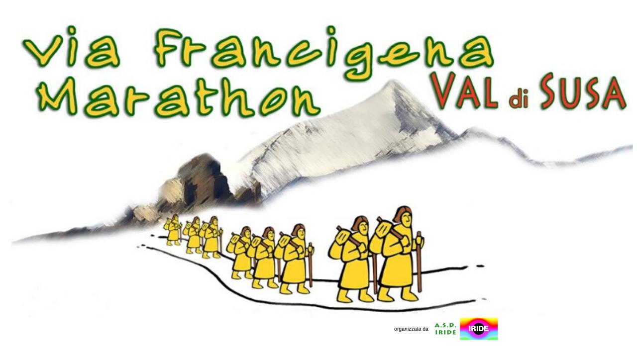 Via Francigena Marathon Val di Susa FMV2020