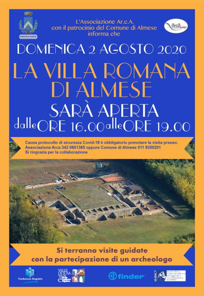 2 agosto_almese_visita_Villa_Romana