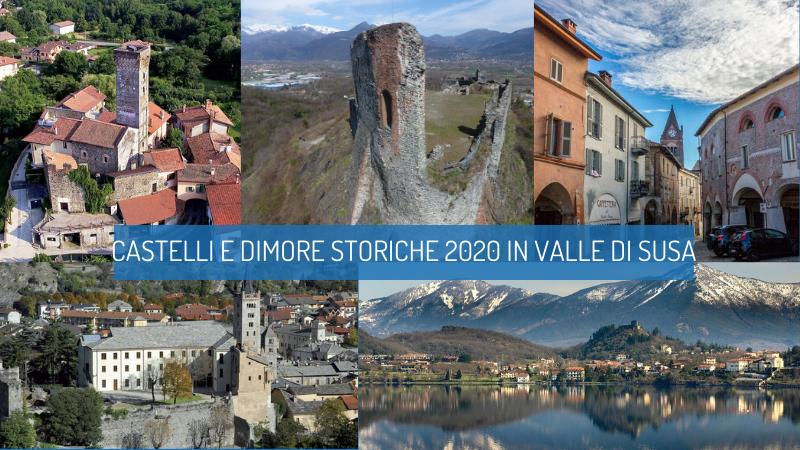Castelli e dimore storiche in Valle di Susa, aperture dal 28 giugno al 27 settembre
