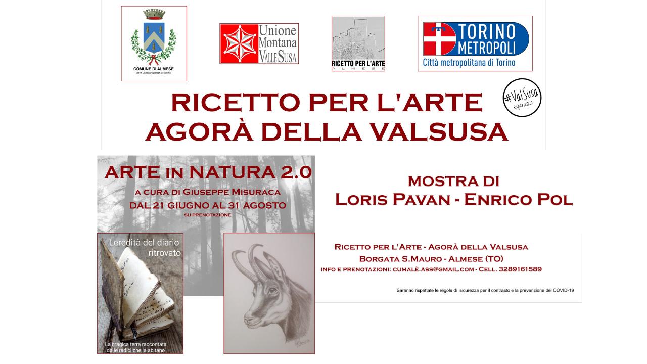 Mostra ARTE in NATURA 2.0 Ricetto di San Mauro Almese - Val Susa Turismo