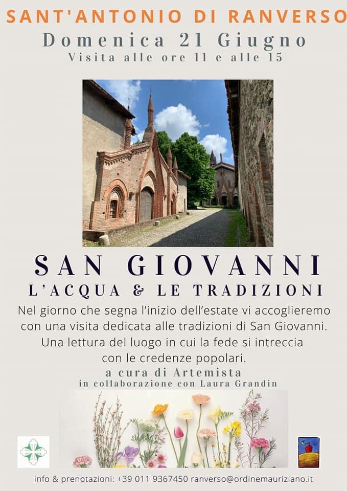 San Giovanni, l'acqua e le tradizioni