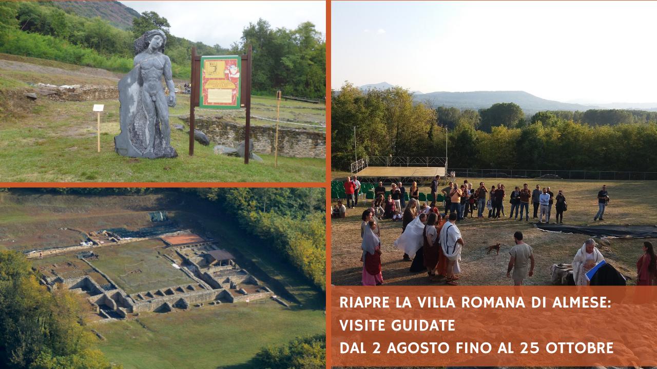 Visite 2020 Villa romana di Almese_ Valle di Susa Turismo