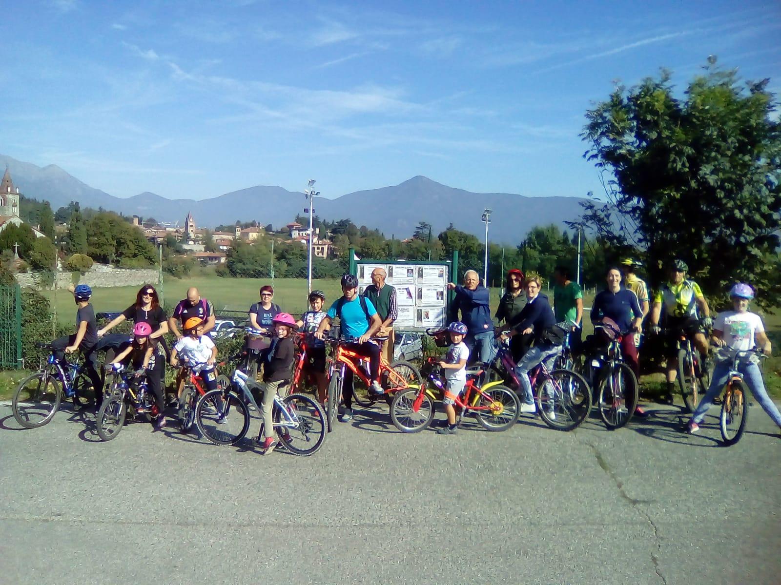 """biciclettata """"Nel cuore verde di Avigliana tra i Laghi e la Dora"""""""