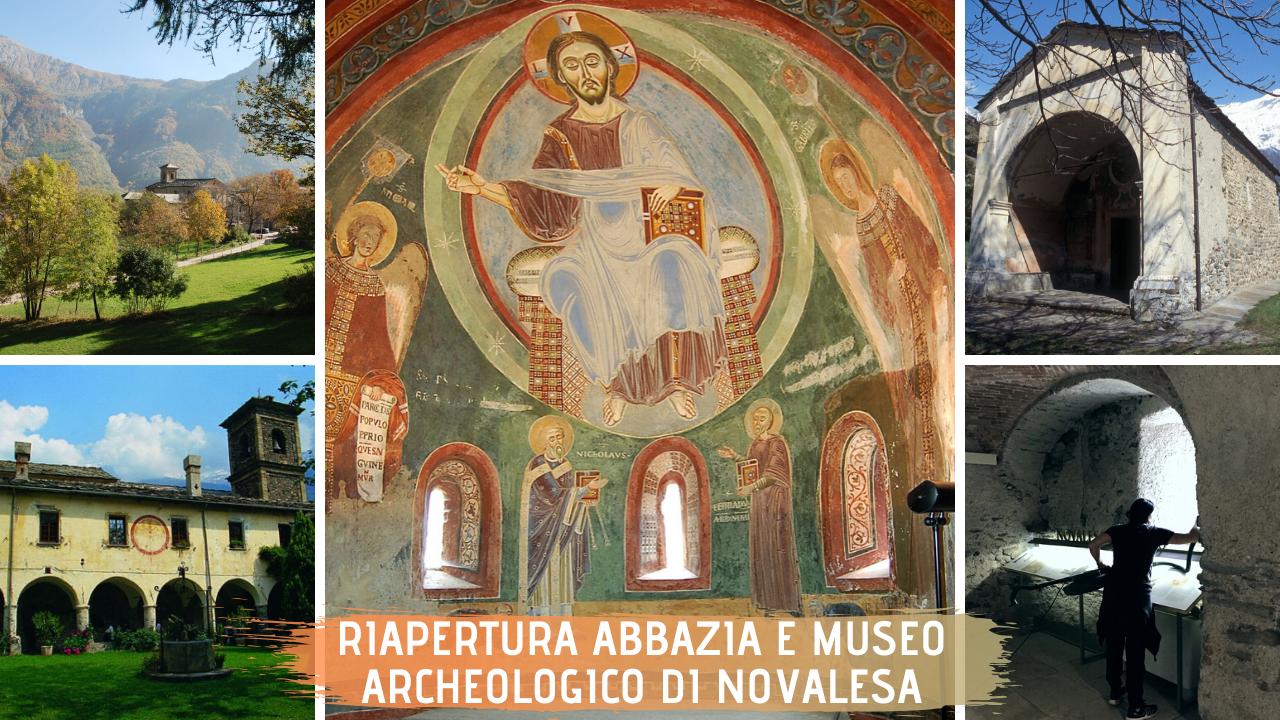 Riapertura abbazia e Museo Archeologico di novalesa