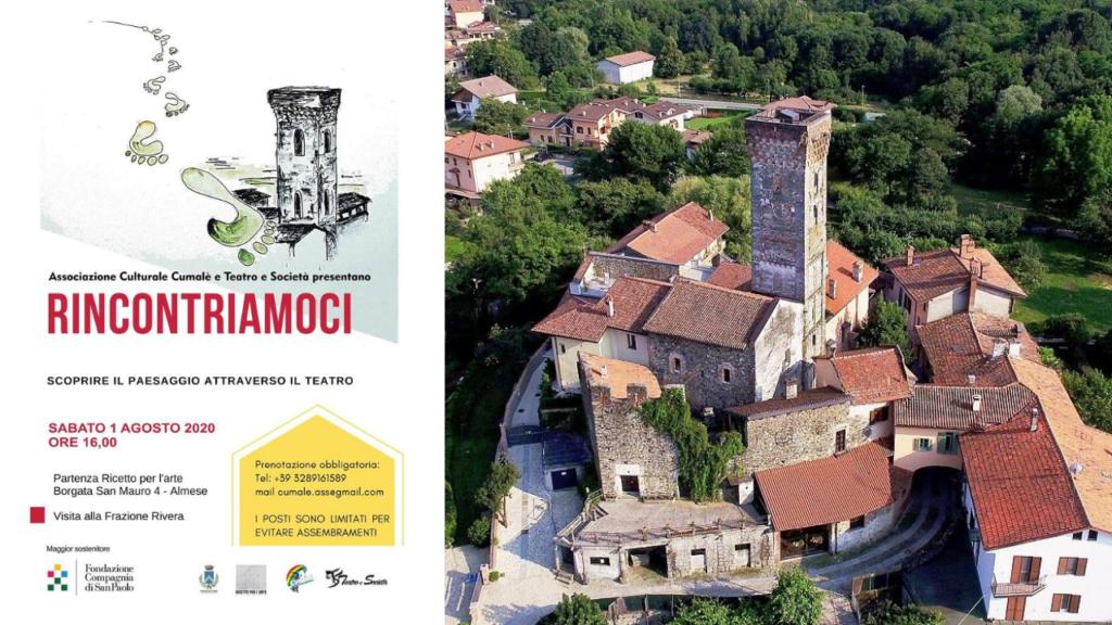"""""""Rincontriamoci"""" Visita teatralizzata al ricetto di Almese - Val Susa Turismo"""