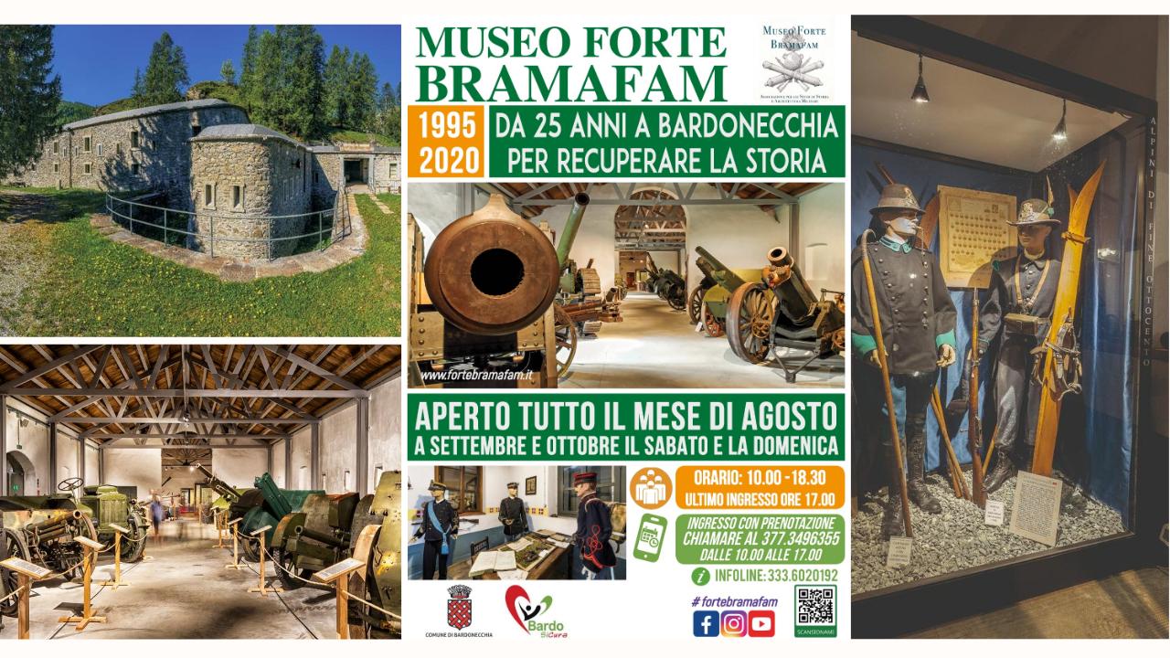25 anni a Forte Bramafam: dal 1 agosto riapre il Museo di Storia MIlitare a Bardonecchia