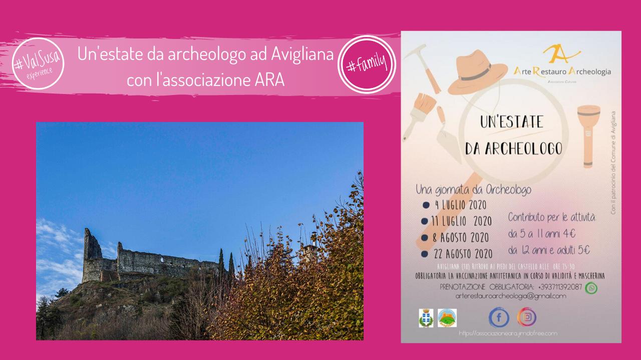 Un'estate da archeologo ad Avigliana con l'associazione ARA