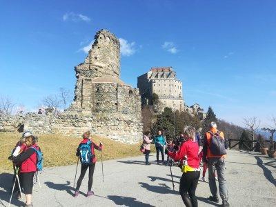 Asd Iride alla Sacra di San Michele - Via francigena marathon val di susa