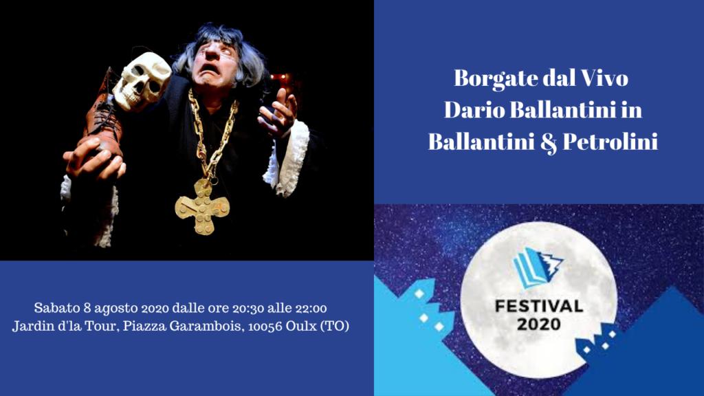 Borgate dal Vivo Dario Ballantini in Ballantini & Petrolini - Val di Susa Turismo