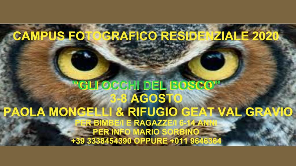 Campus Fotografico 2020 al Rifugio GEAT Val Gravio