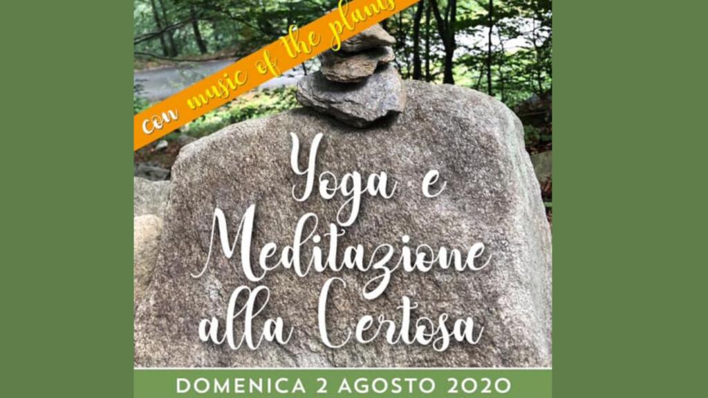 Certosa 1515_ YOGA E MEDITAZIONE CON MUSIC OF THE PLANTS - Val di Susa Turismo
