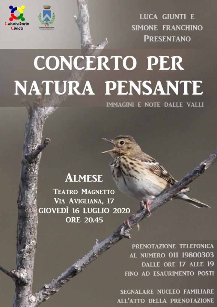 Concerto per natura pensante ad Almese