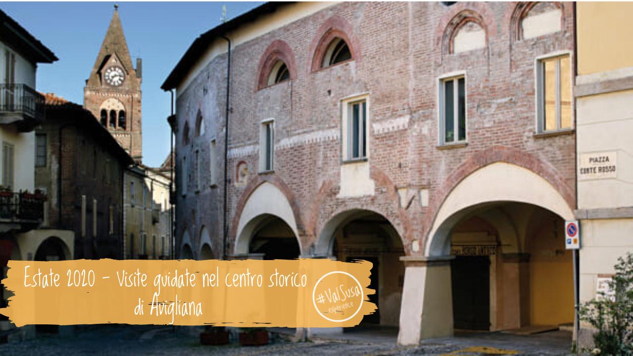 Estate 2020 - Visite guidate nel centro storico di Avigliana