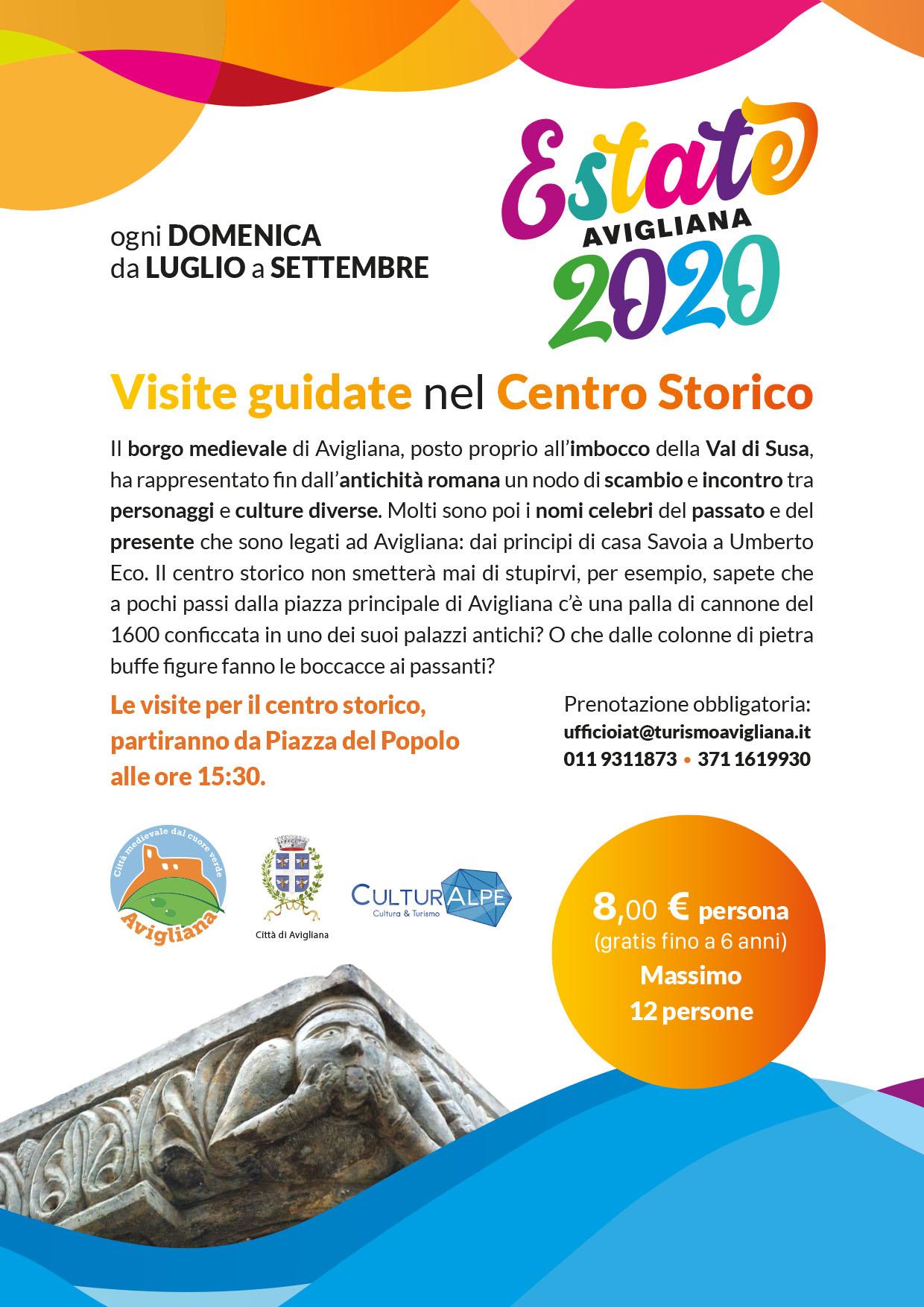 Estate 2020_Tour_Centro_Storico_Avigliana