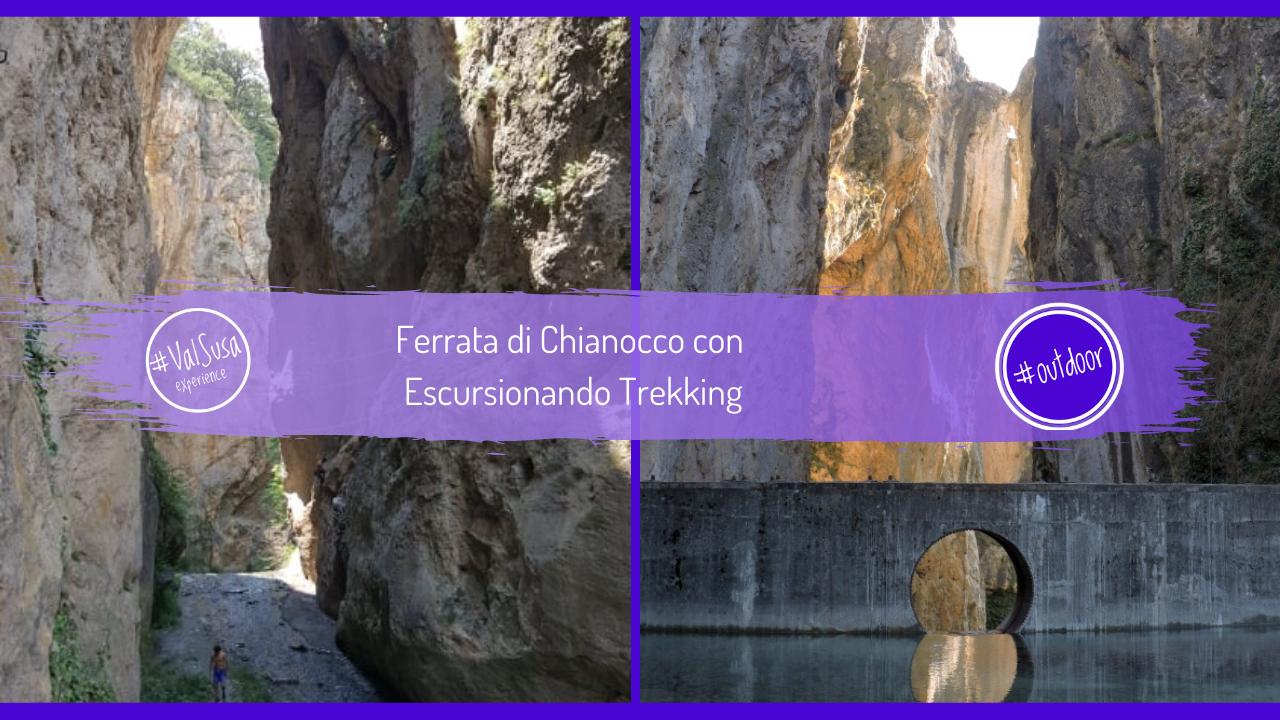 Ferrata di Chianocco con Escursionando Trekking - Valle di Susa