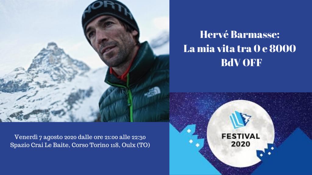 Hervé Barmasse_ La mia vita tra 0 e 8000 BdV OFF - Val di Susa Turismo