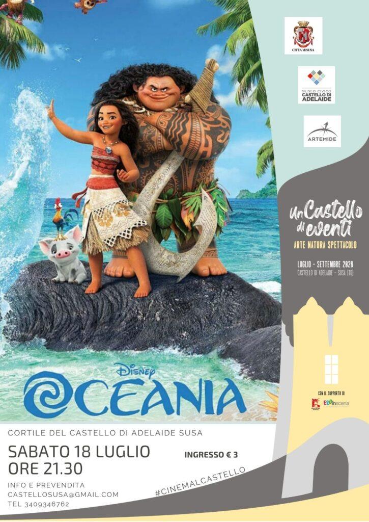 Proiezione film OCEANIA - Castello di Susa