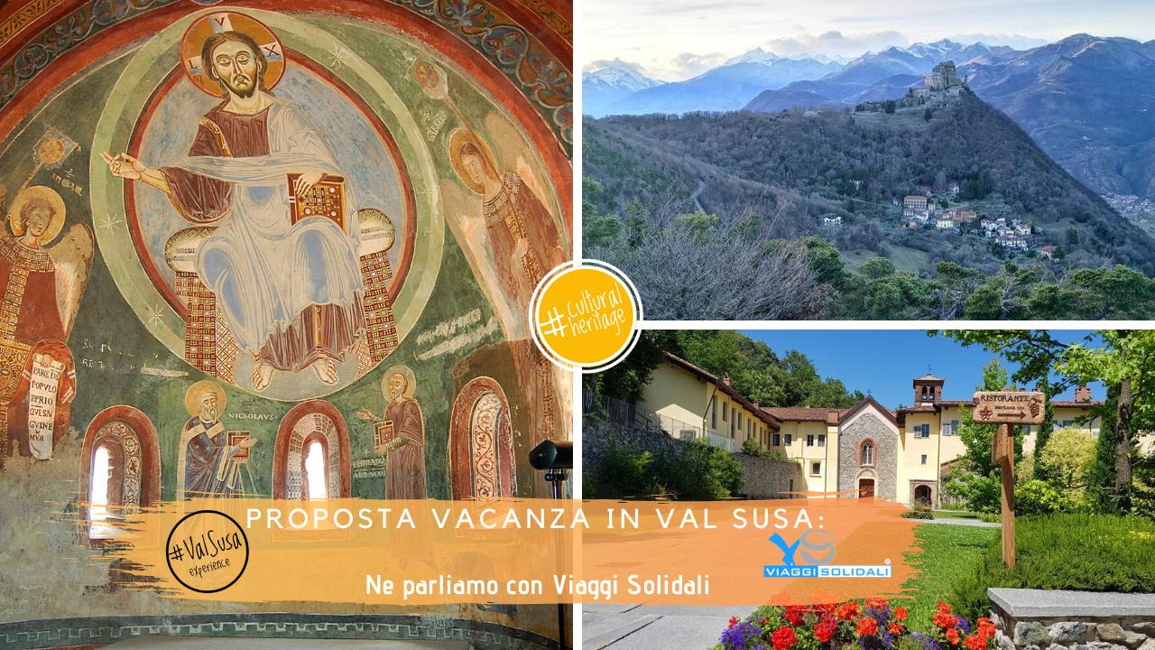Proposta e pacchetto Vacanza in Val di Susa con Viaggi Solidali