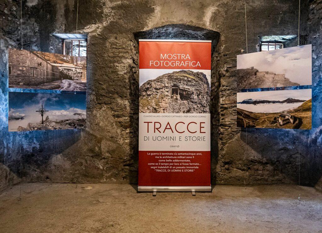 TRACCE DI UOMINI E STORIE La mostra fotografica al Forte di Bramafam