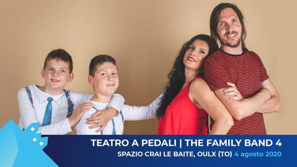Teatro a Pedali + The Family Band 4 in concerto BdV OFF