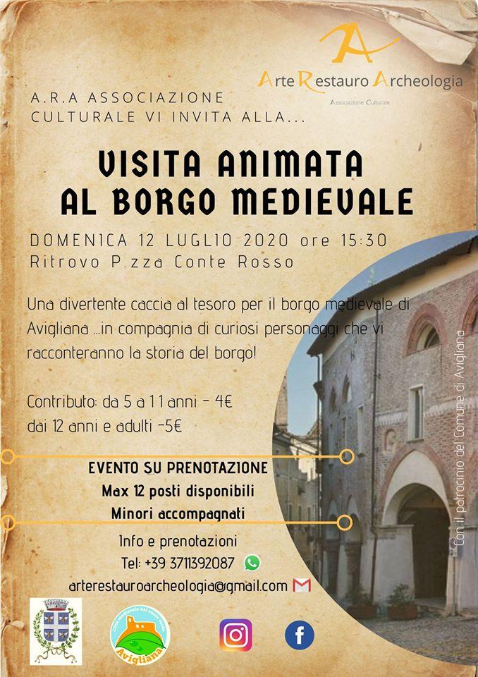 Visita Animata al Borgo Medievale Avigliana