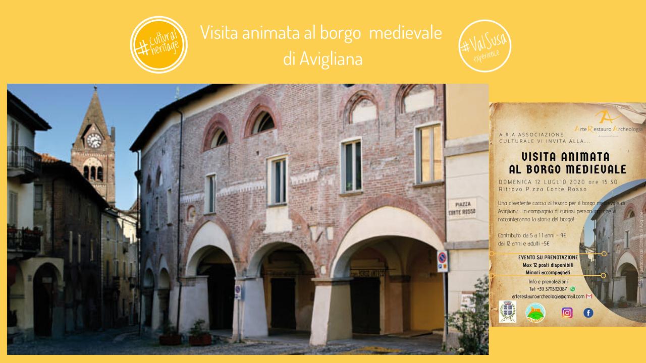 Visita animata al borgo medievale di Avigliana - Valle di Susa