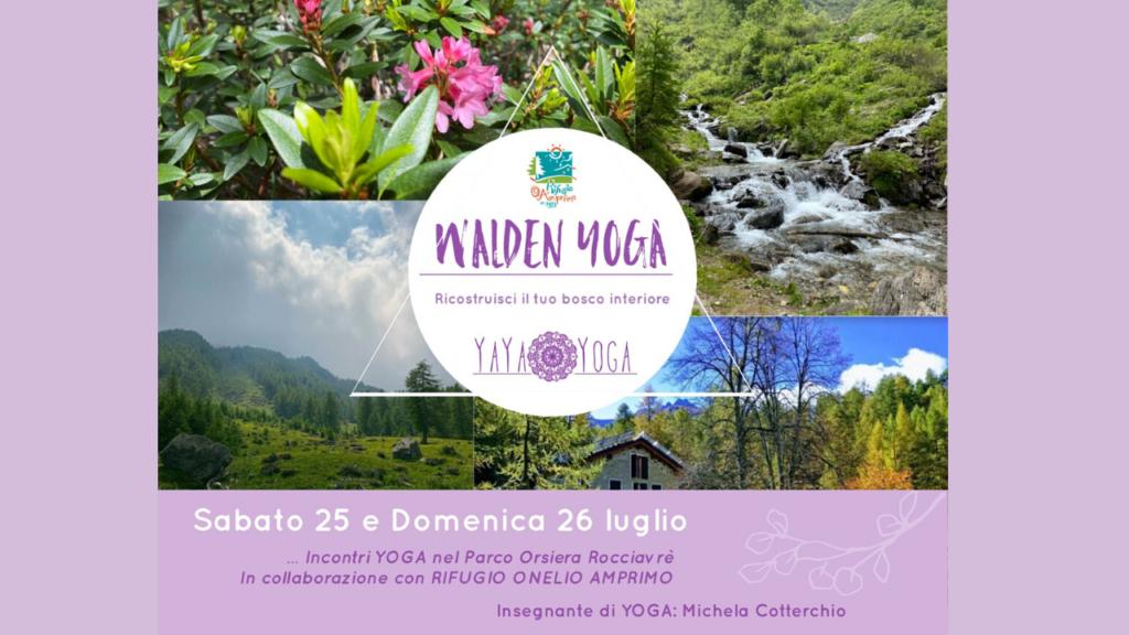 Walden Yoga - Ricostruisci il tuo bosco interiore - Val di Susa Turismo