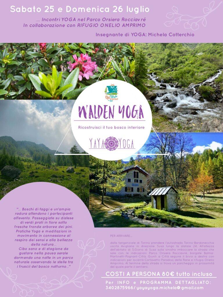 Yoga al Rifugio Amprimo - Val Susa Turismo