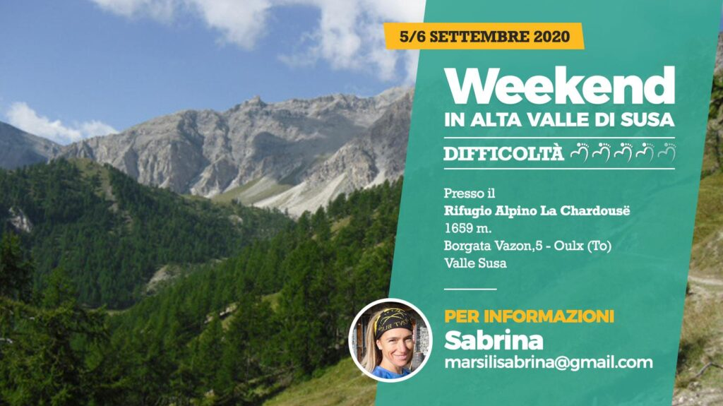 Weekend in Alta Valle di Susa con Duma c'Anduma