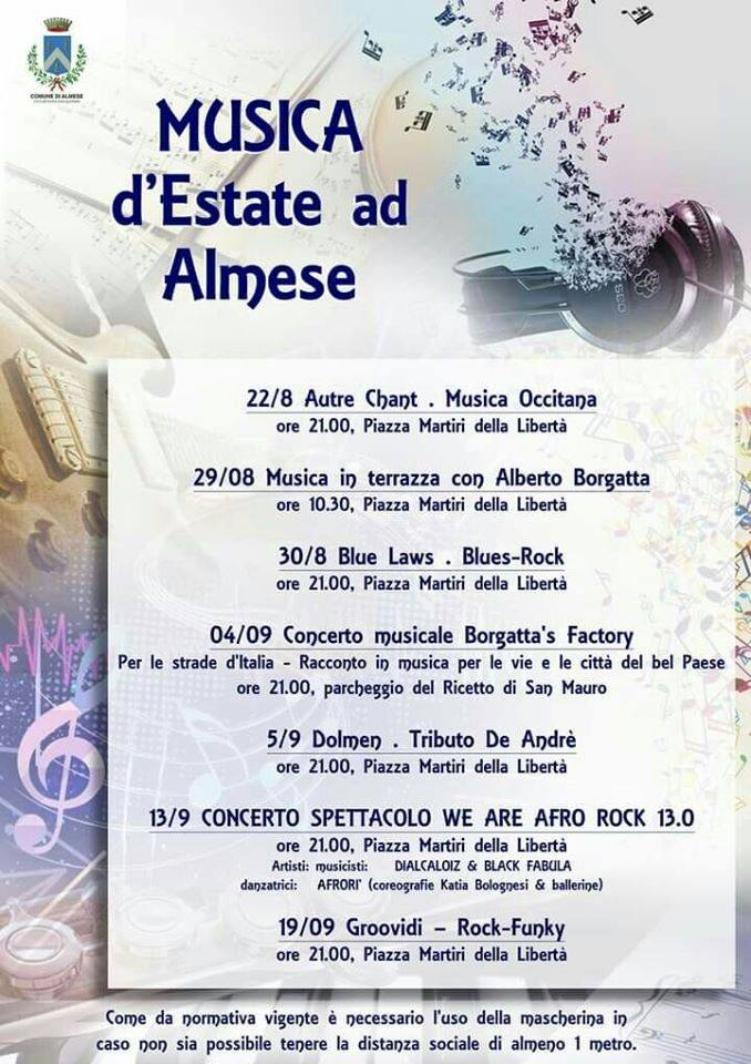 Musica d'estate ad Almese