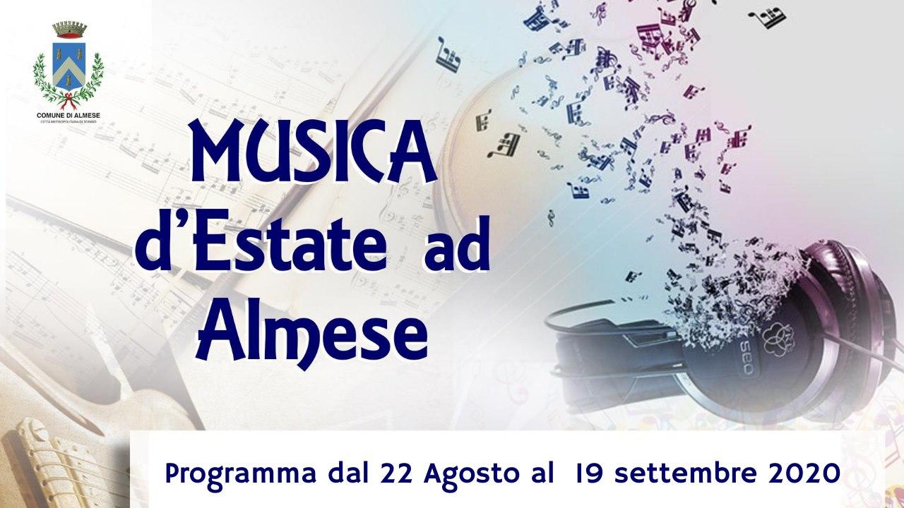 Musica d'estate ad Almese – dal 22/8 al 19/9