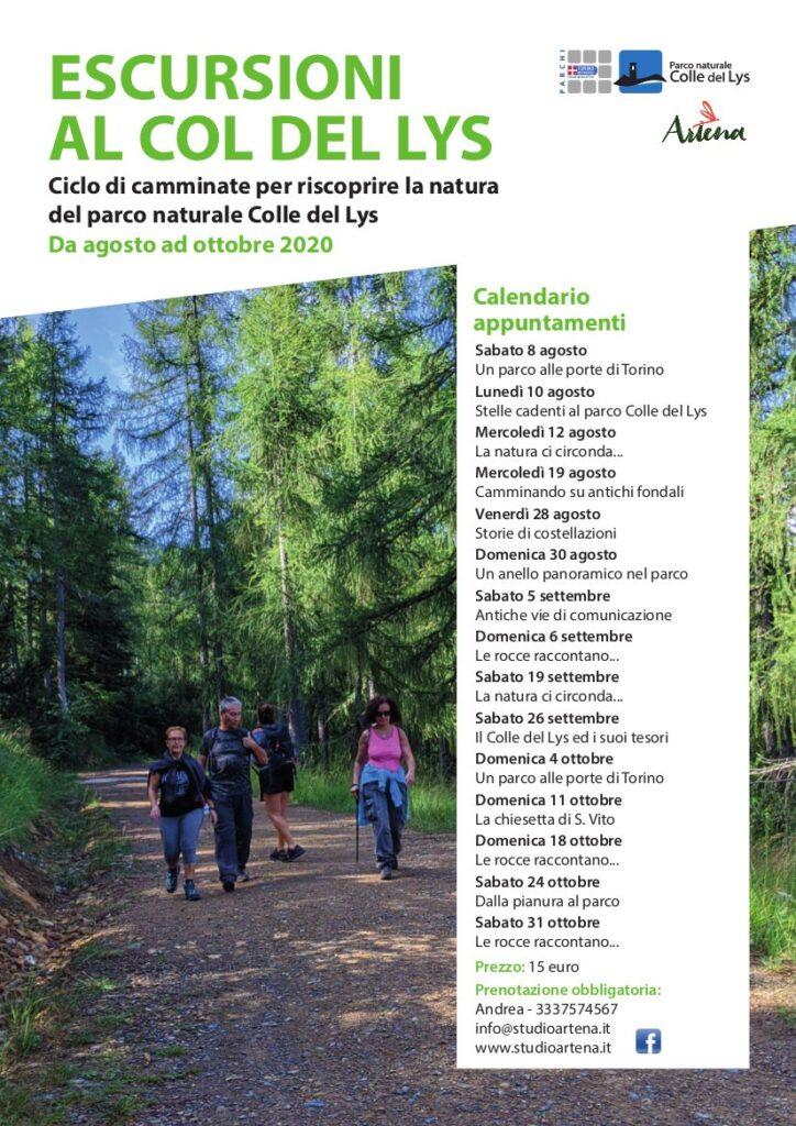 Escursioni al Coldel Lys Artena